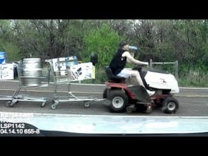 Riding Mower DUI