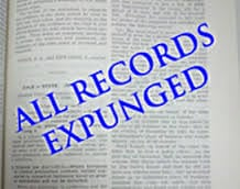 Expunge Criminal Record